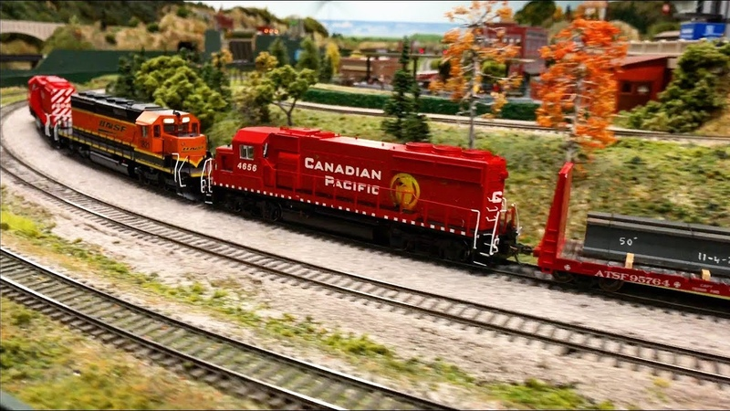 Best Model Railroad layout in HO scale in Orlando - Central Florida Railroad Modelers 4K UHD
