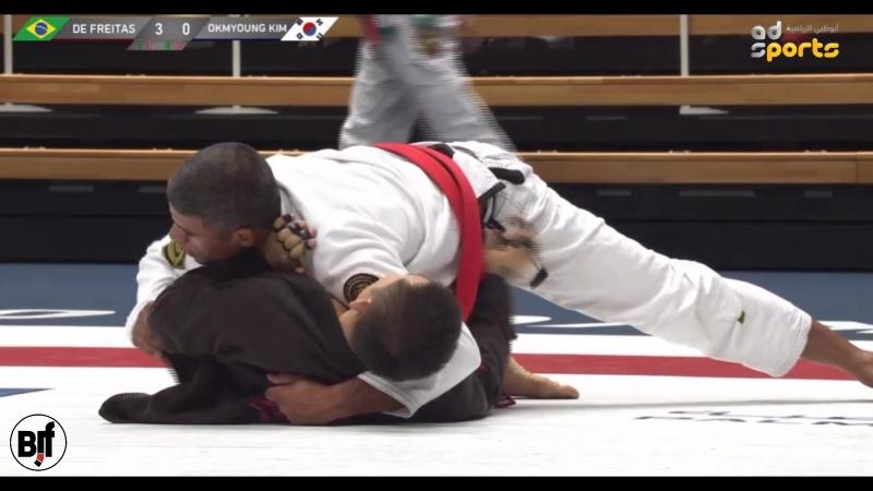 Marcelino De Freitas vs Okmyoung Kim 4 f TokyoGS2018