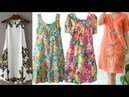 Women's Bold Floral Chemise NightGowns Cotton Night Gowns Designs