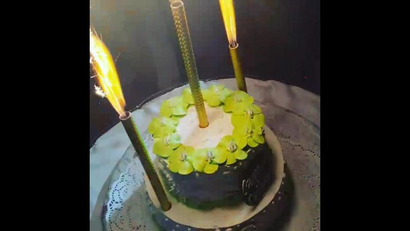 Вынос свадебного торта Виталия и Оксаны