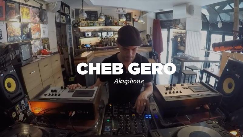Cheb Gero Akuphone Cassette Tapes DJ Set Le Mellotron
