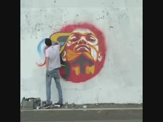 Уличное искусство или вандализм
