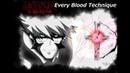 EVERY BLOOD TECHNIQUE Kekkai Sensen and Beyond HD
