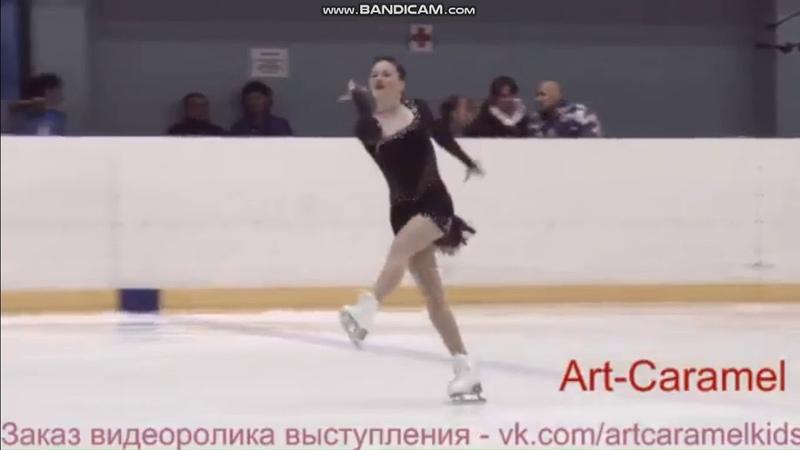 Анастасия Гулякова КП 1 этап Кубка Санкт-Петербурга 2018