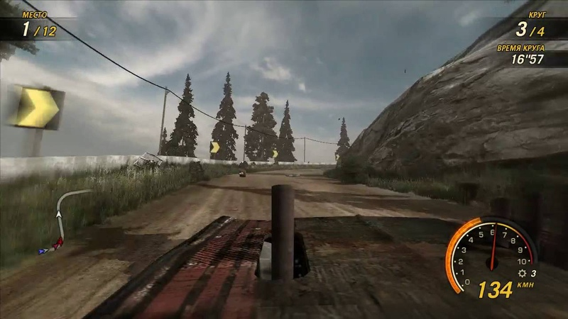 FlatOut Ultimate Carnage - Blaster XL - Pinegrove 2