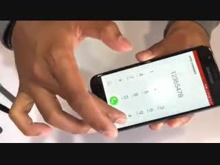Замена дисплейного модуля на Samsung j3(17)