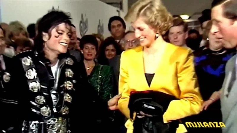 Encuentro entre Michael Jackson y la Princesa Diana en 1988 - Subtitulado en Español