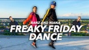 FREAKY FRIDAY Lil Dicky ft Chris Brown Siblings Dance Ranz and Niana
