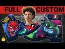 Full Custom | Big Baller Brand / Monstar/ Space Jam Timberlands by Sierato