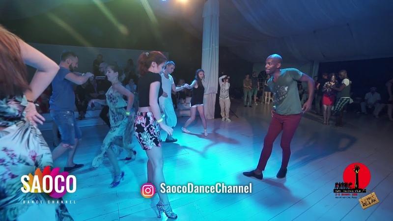 Didier Lobeau and Valeriya Chernyshova Salsa Dancing in Malibu at The Third Front, Sat 04.08.18 (SC)