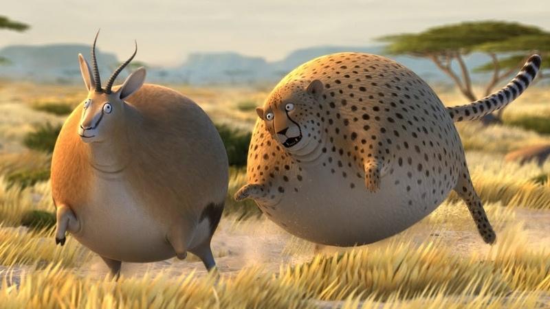 Động Vật Béo Phì ♫ Phim Hoạt Hình 3D ♫ Hoạt Hình HÀI HƯỚC VUI NHỘN Hay Nhất Cho Bé ♫ CuBo TV