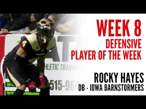 Week 8 Defensive Player of the Week: Rocky Hayes