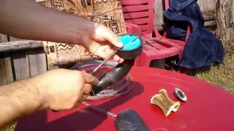 модернизация фильтра мопеда альфа