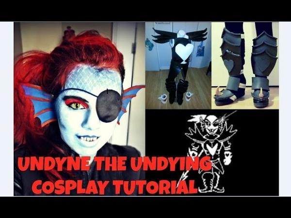 【Cosplay Tutorial】Undyne the Undying - Rinku Rose Cosplay