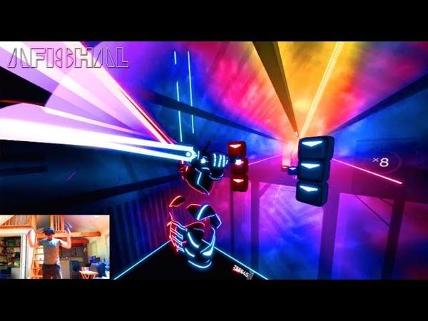 BEAT SABER!! Avicii - Without You (AFISHAL Arcade Game Remix)