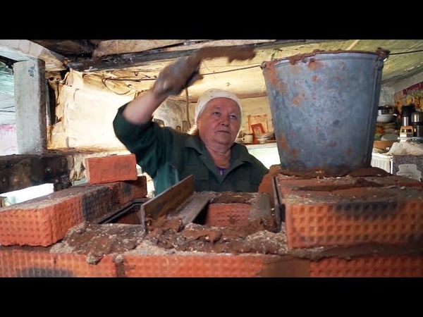 Пенсионерка — строитель печей | Человек на карте