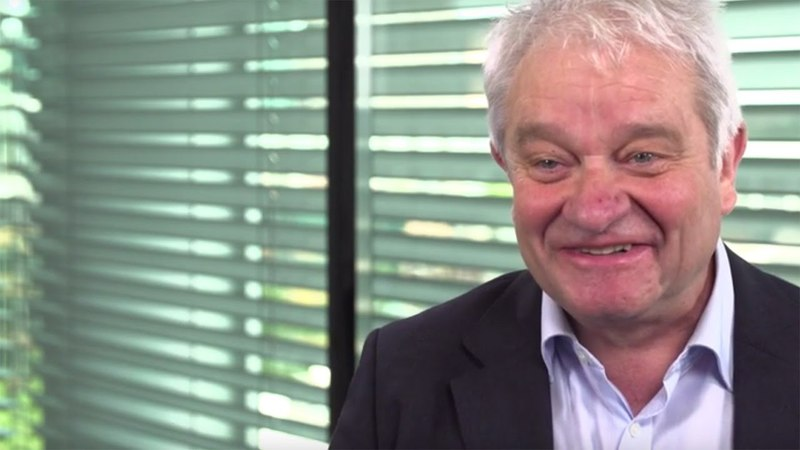 Sir Paul Nurse, future Chancellor at the University of Bristol