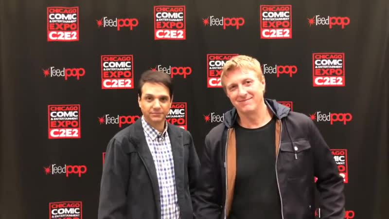 Кобра-Кай 2 Сезон / Two Dojos, One Live Stream ¦ Cobra Kai at C2E2