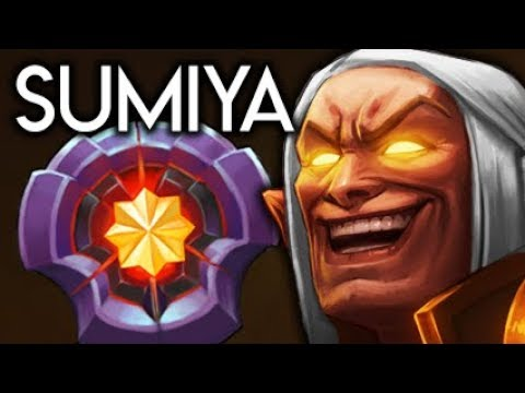 Sumiya Invoker God BEST MASTER Hero Tier Player in World Dota 2