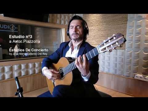 Estudio nº3 a Astor Piazzolla by José María Gallardo Del Rey.