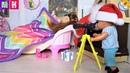 КАТЯ И МАКС ВЕСЕЛАЯ СЕМЕЙКА ПОЙМАЙ ДЕДА МОРОЗА Мультики с куклами Барби новые серии barbie