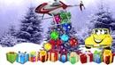 Мультик про машинки новогодние подарки, счет до 10 с машинкой Би Бип Развивающий мультик