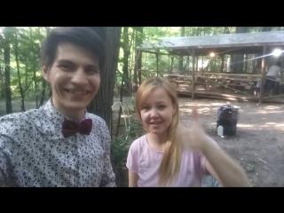 Видеоотзыв о шоу мыльных пузырей Василия Степанова.