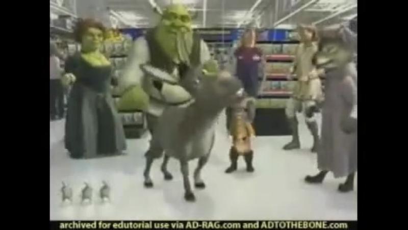 Шрек 2 Shrek TV Commercial