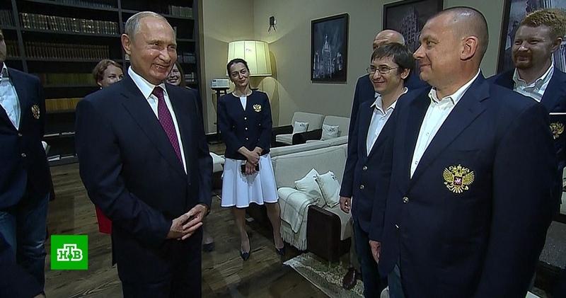 Путин лично пожелал успеха российским шахматным олимпийцам