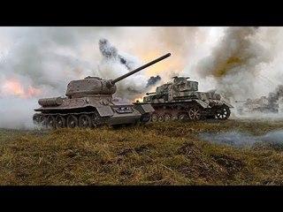 ШИКАРНЫЙ ФИЛЬМ! Немецкие и Советские Танки. Борьба танковых конструкторов Тигр, КВ, Т-34