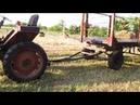 Самоходный трактор т 25 или как мы сено грузили