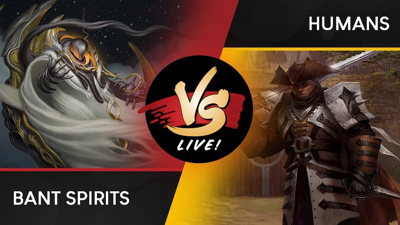 VS Live! | Bant Spirits VS Humans | Modern | Match 1