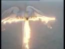 C-130 «Геркулес» показывает ангела в небе...