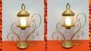 Best Out of Waste Plastic Bottle Craft DIY LED Candle Holder