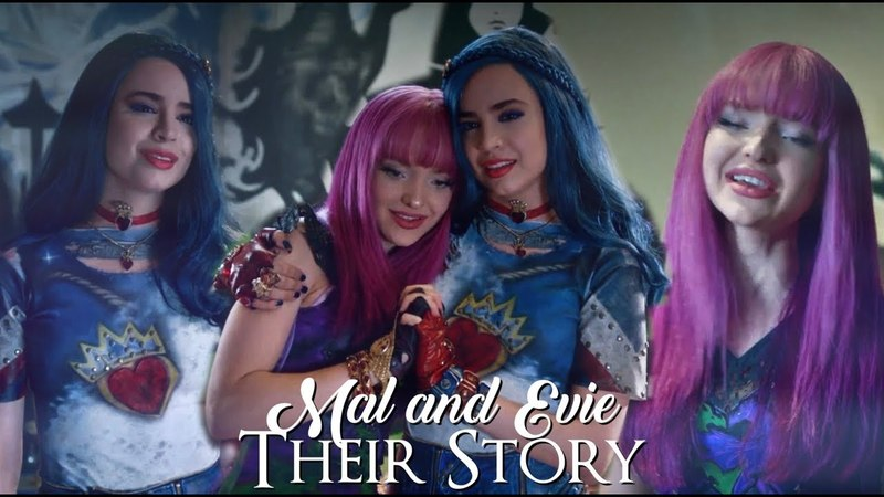 Mal and evie their story Descendants 2