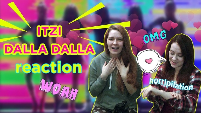 ITZY 달라달라 DALLA DALLA M V REACTION Russian fangirls