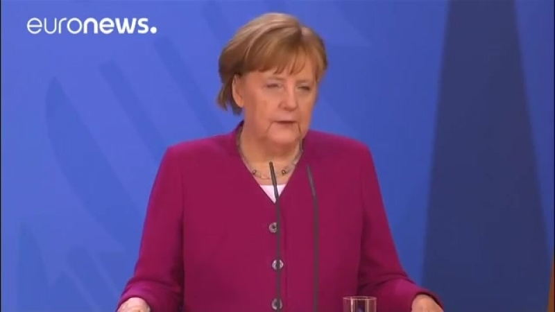 Merkel sieht -schwere Indizien- für Giftgasangriff durch Assad