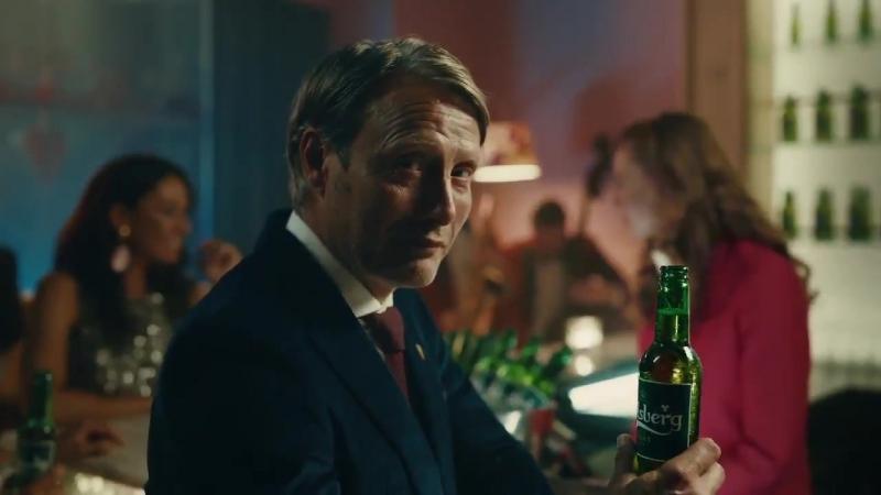 New Carlsberg ad for Mads - Mads Mikkelsen