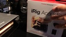 IRig Acoustic Stage Pickup Unboxing and Audio Test