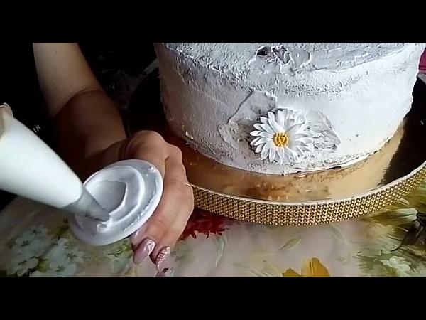 Торт С Цветами/идея заказчицы/