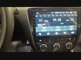 Установка магнитолы и камеры заднего вида на Шкода в Авто Ателье АврорА