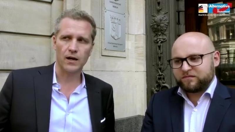 AfD-Fraktion stellt Strafanzeige gegen NGO-Schlepper!.mp4
