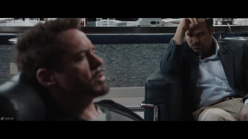 Iron Man 3 After Credits Scene (Tony Stark Bruce Banner)