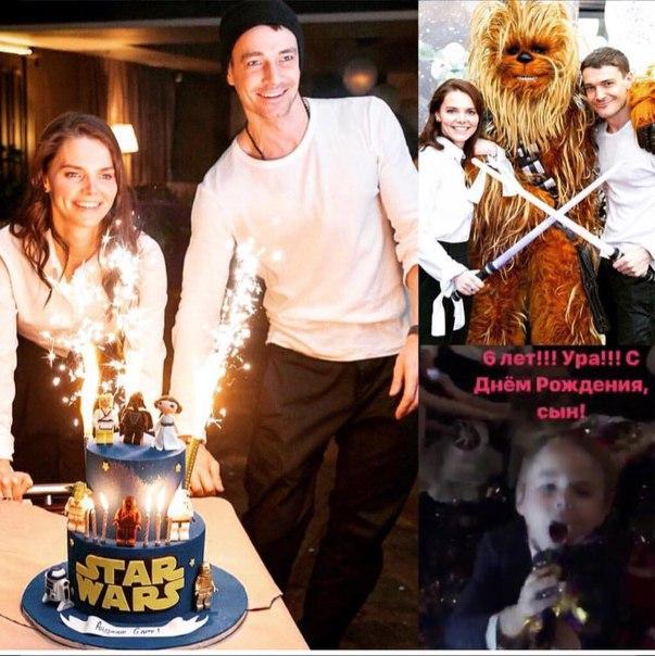 Счастливая семья: Елизавета Боярская и Максим Матвеев отметили день рождения сына