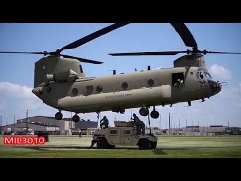 🔥 Десантники Армии США на учениях / Мобильная артиллерия, вертолеты Блэк Хок и Чинук