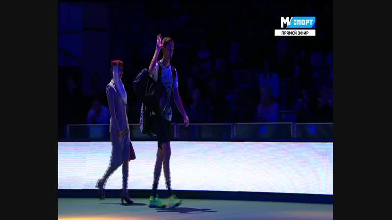 2018 Kremlin Cup Moscow Men's Semi final K Khachanov vs D Medvedev