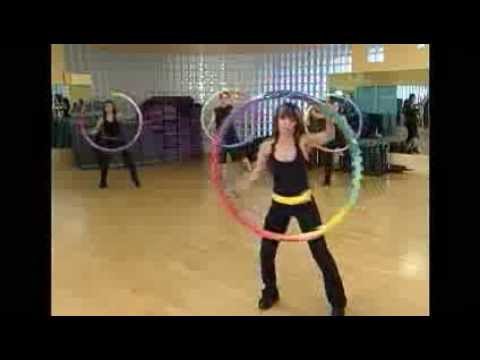 Weighted Sports Hula Hoop Workout - 1 - Stretching and Hooping by Rosemary