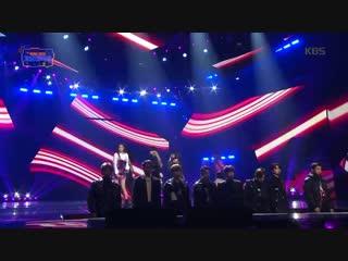 181228 NCT U, NCT Dream, EXO - Intro + Monster @ KBS Gayo Daechukje
