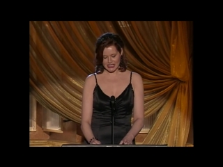 Geena Davis presents the 2006 WGAW Screen Laurel to Lawrence Kasdan
