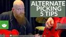 5 Tips to SHRED Alternate Picking